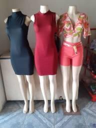Vendo 3 manequins  por 350