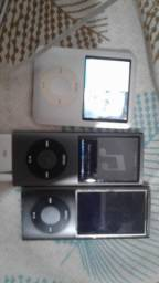 Vendo 3 ipods antigos