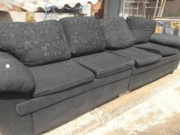 Sofa de canto muito conservado 350 mais informações chama *