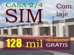 Casa SIM, 02 quartos