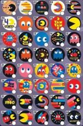 Tazos 2020 Pacman 40 anos - Valor Unitário