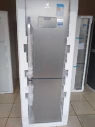 Refrigerador inox Frost Free INVERSE 454 litros nova na embagem