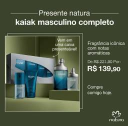 Produtos promocionais Natura