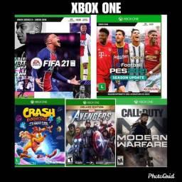Avengers, pes21,crash4, vários jogos Xbox one