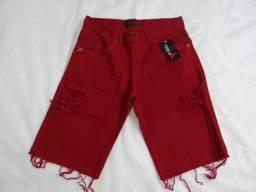 Shorts Jeans Rasgado Masculino Destroyde