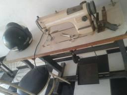 Máquina de costura industrial reta bivolt