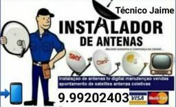 Manutenção de antenas e reparos