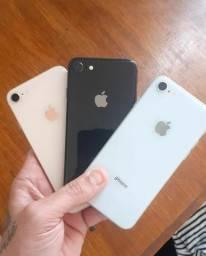 Iphone 8 64 gb de vitrine garantia