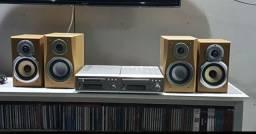 Denon Cd Receiver+ Minidisc Recorder Cdr-m30 + Dmd-m30