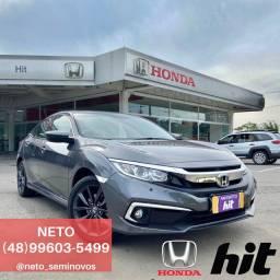NETO - Honda Civic EXL 2.0 2020 - 2 (Dois) mil km