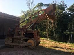 Trator esteira fiatallis 60 CI com concha R$32.000