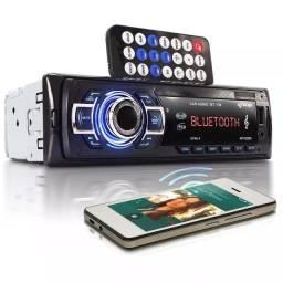 Som De Carro Bluetooth Mp3 USB rádio FM 4x60w - Auto Rádio veicular