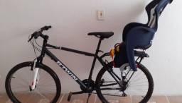 Vendo bicicleta usada poucas vezes