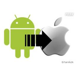 Transfiro dados do iPhone para Android