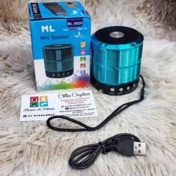 Mini Caixa De Som Portátil Speaker ML - 0020