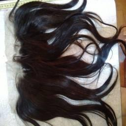 Top clousure de cabelo natural de orelha a orelha 35cm