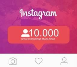 Contas do Instagram com até 10 mil seguidores
