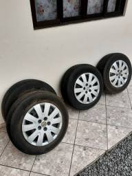 Vendo rodas 15 5x100