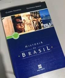 livro história do brasil de claudio vicentino