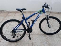 Bicicleta btwin rockrider 340 aro 26 - ótimo estado
