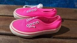 Título do anúncio: Tênis Vans pink 27 conservadissimo