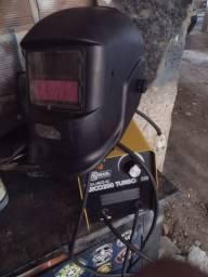 Máquina de solda v8 Brasil + máscara automática