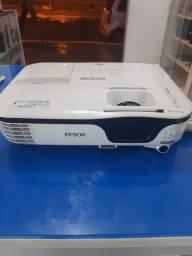 Projetor Epson HDMI + suporte + cabos + tela de projeção barbada !