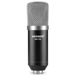 Microfone condensador profissional de estúdio Neewer NW-700