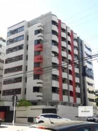 Quarto e sala de 55 m² na 3 quadra da praia da Ponta Verde com varanda e armários só 320 m