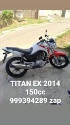 TITAN EX 150cc 2014 ( IMPECÁVEL )