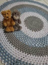 Título do anúncio: Tapete de crochê para quarto infantil