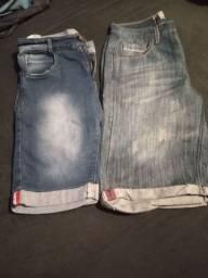 Vendo lote de  bermudas e calças de menino serve tamanho 12