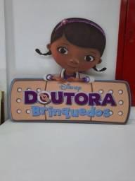 Placa Doutora Brinquedo desapego
