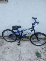 Bicicleta Caloi aro 20 de criança