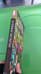 Livro - Gerras Secretas - Marvel