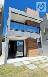 Título do anúncio: Casa com 3 dormitórios à venda, 100 m² por R$ 349.900 - Mangabeira - Eusébio/CE