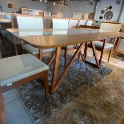 Título do anúncio: Mesa de madeira maciça pronta entrega