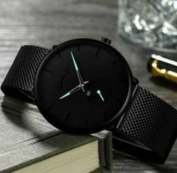 Relógio minimalista. Casual.