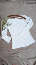 Blusa de linha branca