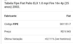 Palio elx 2002 1.0 16v