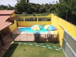 Casa de praia com piscina em milagres-al