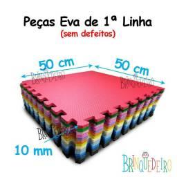 Tatame infantil 50x50 com 9 peças  - ótimo para qualquer ambiente