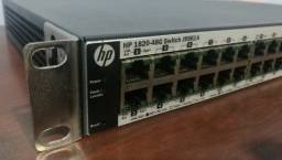 Switch HP 1820-48G J9981A 48 portas Gigabit 4 SFP Gerenciavel