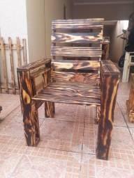 Poltrona madeira