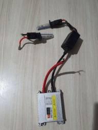 Xenon h1 7.500k com 1 reator e 2 lâmpadas