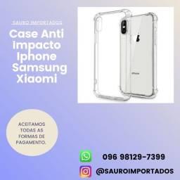 Case anti impacto iPhone Samsung e XIAOMI