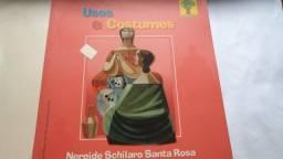 Livro usos e costumes nereide schilaro santa rosa usado