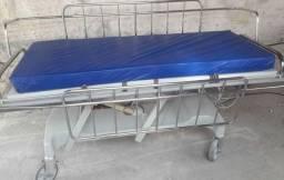 Cama Hospitalar Elétrica com Colchão e Travesseiro