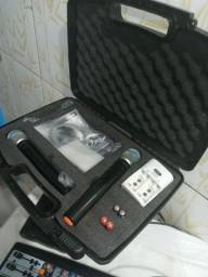 Microfone JWL UHF NOVO