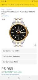 Relógio Orient automático CASTANHAL